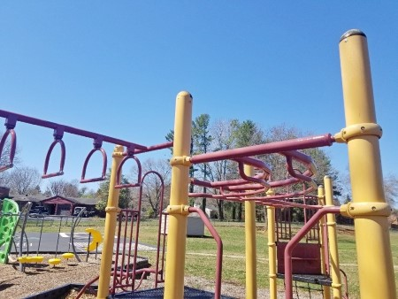 City school playground cleaning in waynesboro