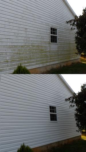 Soft Wash In Waynesboro Va Exterior Cleaning Services